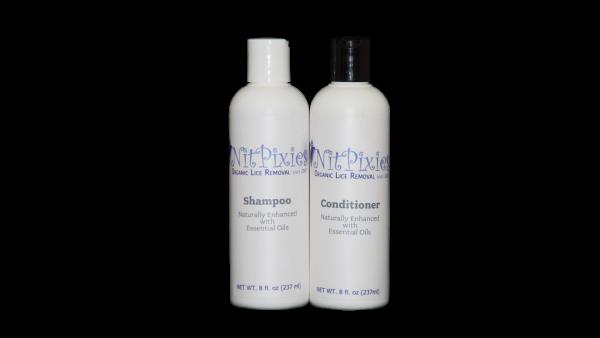 Lice Shampoo and Conditioner Essential Oils